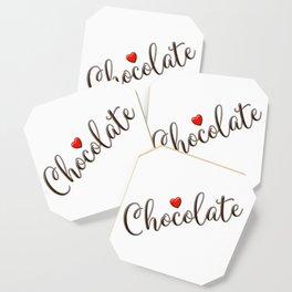Chocolate Love Coaster