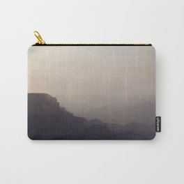 Smoky Hazy Sunset in the Grand Canyon Carry-All Pouch