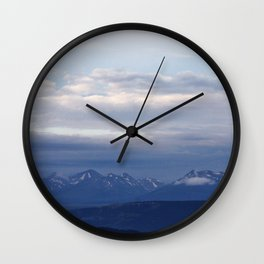 Blue Sunrise Wall Clock