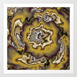 Turbulence in CMR 00 Art Print