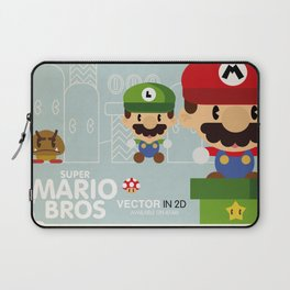 mario bros 2 fan art Laptop Sleeve
