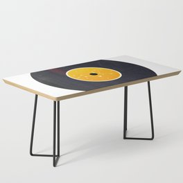 Vinyl Record Star Sign Art | Leo Coffee Table