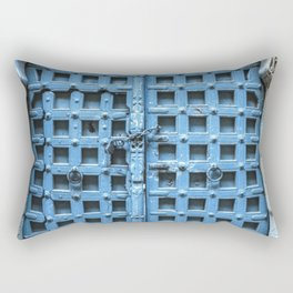 Doors Of India 1 Rectangular Pillow