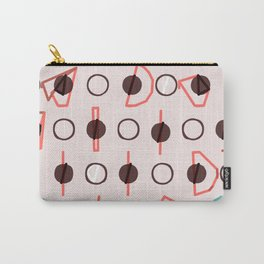 Simple circle line print Carry-All Pouch