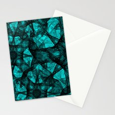 Fractal Art Turquoise G52 Stationery Cards