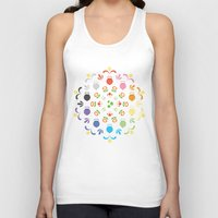 prism Tank Tops featuring Yoshi Prism by Ashley Hay