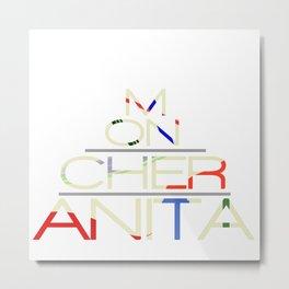 Mon Cher Anita Metal Print