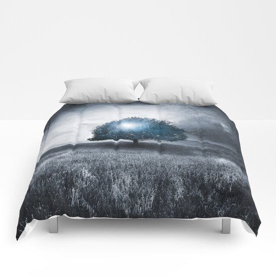 Energy from the blue tree Comforters