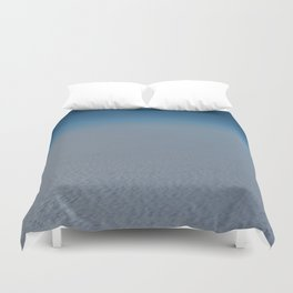 Flying high above the clouds Duvet Cover