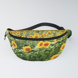 Field of Sunny Flowers Fanny Pack