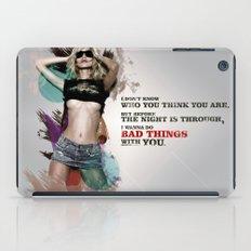 Bad Things iPad Case
