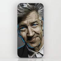 lynch iPhone & iPod Skins featuring DAVID LYNCH by AMBIDEXTROUS™