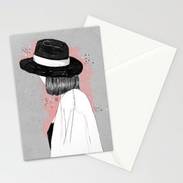 Shadows and stars Stationery Cards