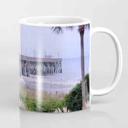 The Last Day Of The Surfside Pier Coffee Mug