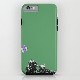 Banksy style iPhone Case