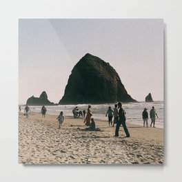 Day at Cannon Beach, OR Metal Print