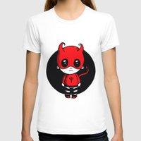 devil T-shirts featuring Devil by Chrystal Elizabeth