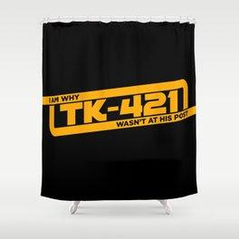 TK-421 Shower Curtain