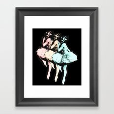 Dancing Girls Framed Art Print