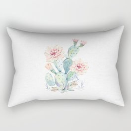 Prettiest Cactus Rose by Nature Magick Rectangular Pillow