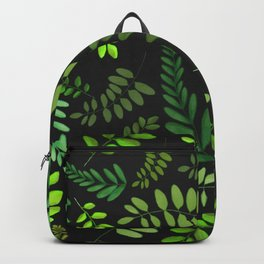 plant pattern updated Backpack