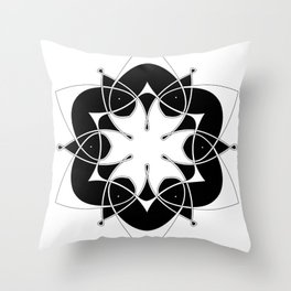 Olwyn's Knot Throw Pillow