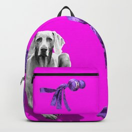 WUBBA WEIMARANER Backpack