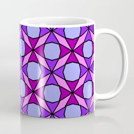 Octagon Flower Leaf Tomatoes Quilt Pattern Coffee Mug