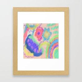 Fresh Start Abstract Digital Painting Framed Art Print