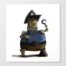 Iso, the Fat Captain Canvas Print