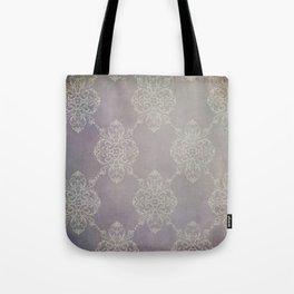 Vintage Damask - Violet Tote Bag