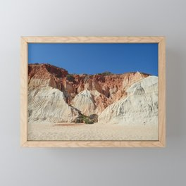 Algarve beach Portugal Framed Mini Art Print