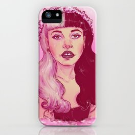 strawberry milk tears iPhone Case