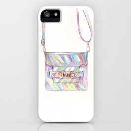 holographic bag iPhone Case