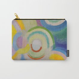 """Robert Delaunay """"Colored Discs"""" Carry-All Pouch"""