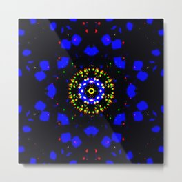 Electric Matter Metal Print