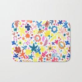 Autumm´s flowers Bath Mat