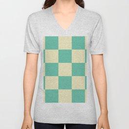 Classic Checker Laestrygonians Unisex V-Neck