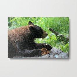Bear munchies Metal Print