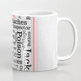 The Beauty of British Mysteries Coffee Mug