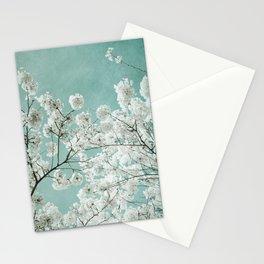 flowering season Stationery Cards