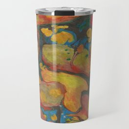 There's Order in Chaos: Marbleizing Travel Mug