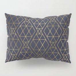 Modern Art Deco Geometric 2 Pillow Sham