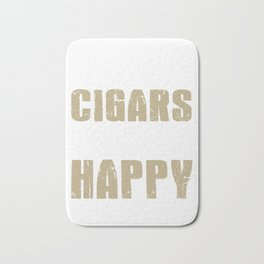 Funny Cigars Make Me Happy, But Not You Bath Mat