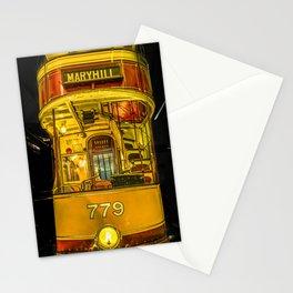 Old Glasgow Tram Stationery Cards