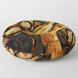 Reticulated Python Floor Pillow