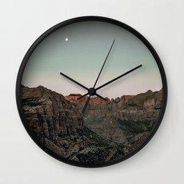 Zion / Utah Wall Clock