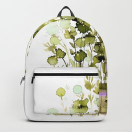 Floral Charm No.1H by Kathy Morton Stanion Backpack