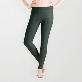 Belly Rub ~ Hooker's Green Leggings