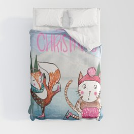 Merry Christmas from Cat and Fox Comforters